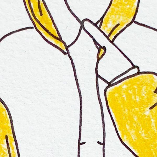 Chicken - Original Zeichnung