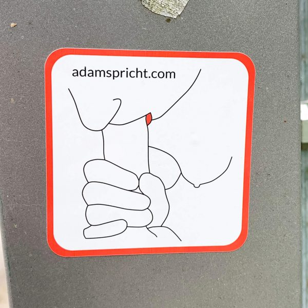Adam spricht - Sticker: Blow