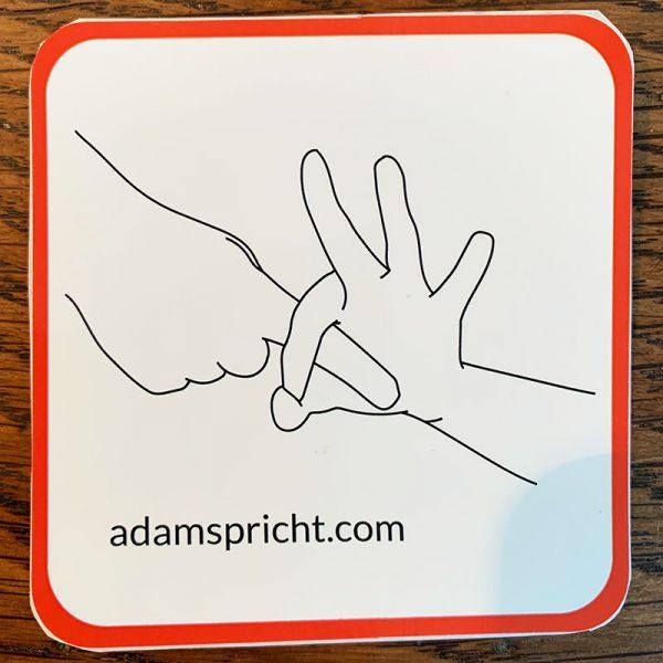 Adam spricht - Sticker