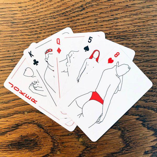 Adam spielt | Spielkarten