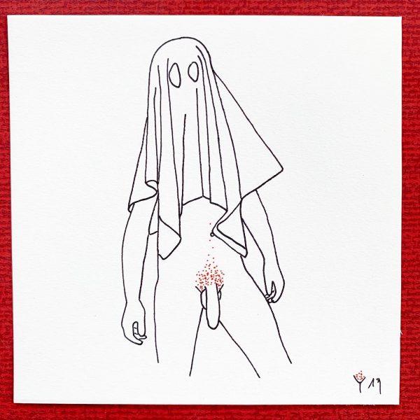 Zeichnung | Adam spricht